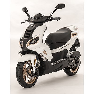 Peugeot Speedfight Pure 4-takt Icy white
