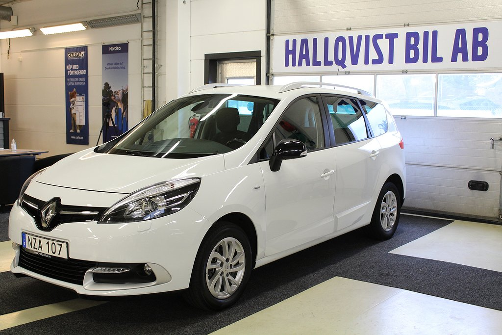 Renault Grand Scénic 1.5 dCi LIMITED Euro 6 7-sits 110hk