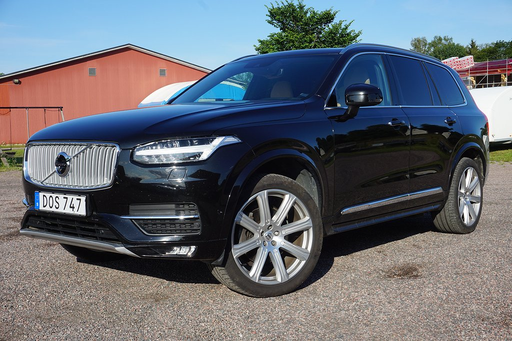 Volvo XC90 D5 AWD Geartronic Inscription Euro 6 7-sits 225hk