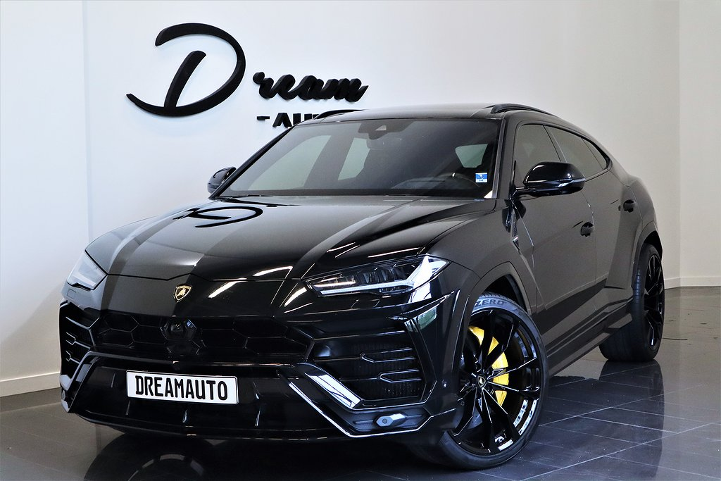 Lamborghini Urus SVENSKSÅLD NYBILSGARANTI