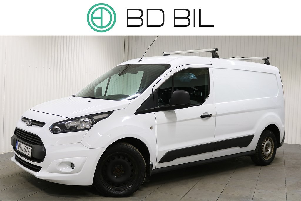 Ford Transit Connect 1.6 TDCi LWB 3-SITS DRAG NYSERVAD