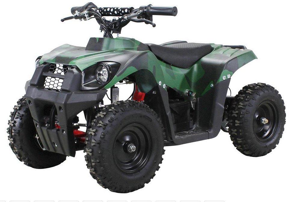 ATV Tuff camo tiger el barnfyrhjuling