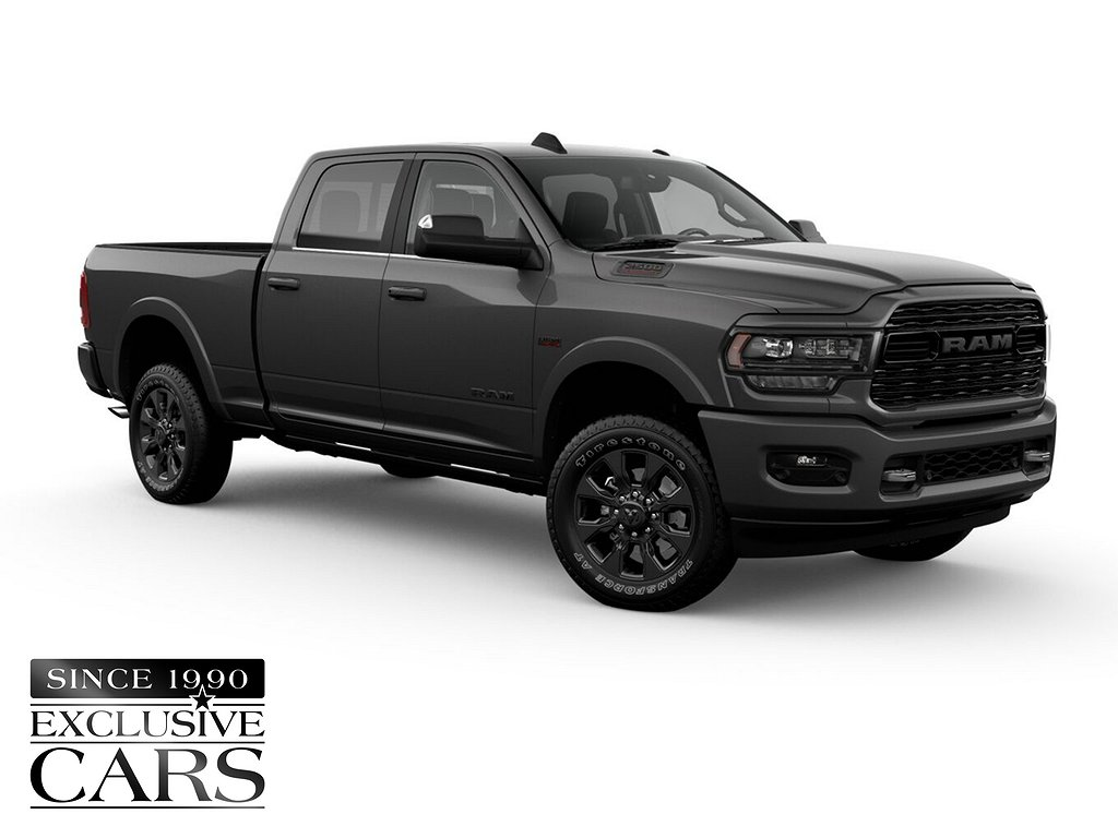 Dodge RAM 2500 HD Limited NIGHT EDITION CUMMINS DIESEL (-) - Bytbil.com 🚗