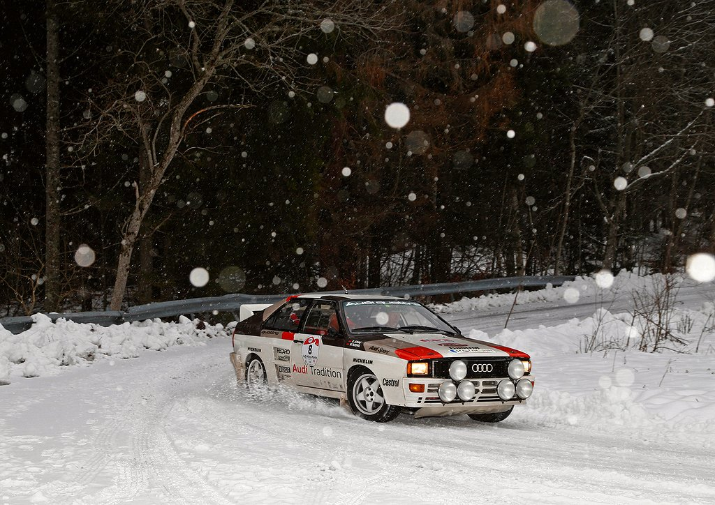 Audi Tradition's debut at the AvD-Histo-Monte