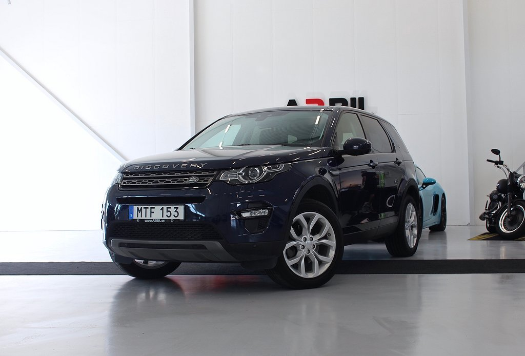 Land Rover Discovery Sport 2.2 SD4 4WD Automat 190hk