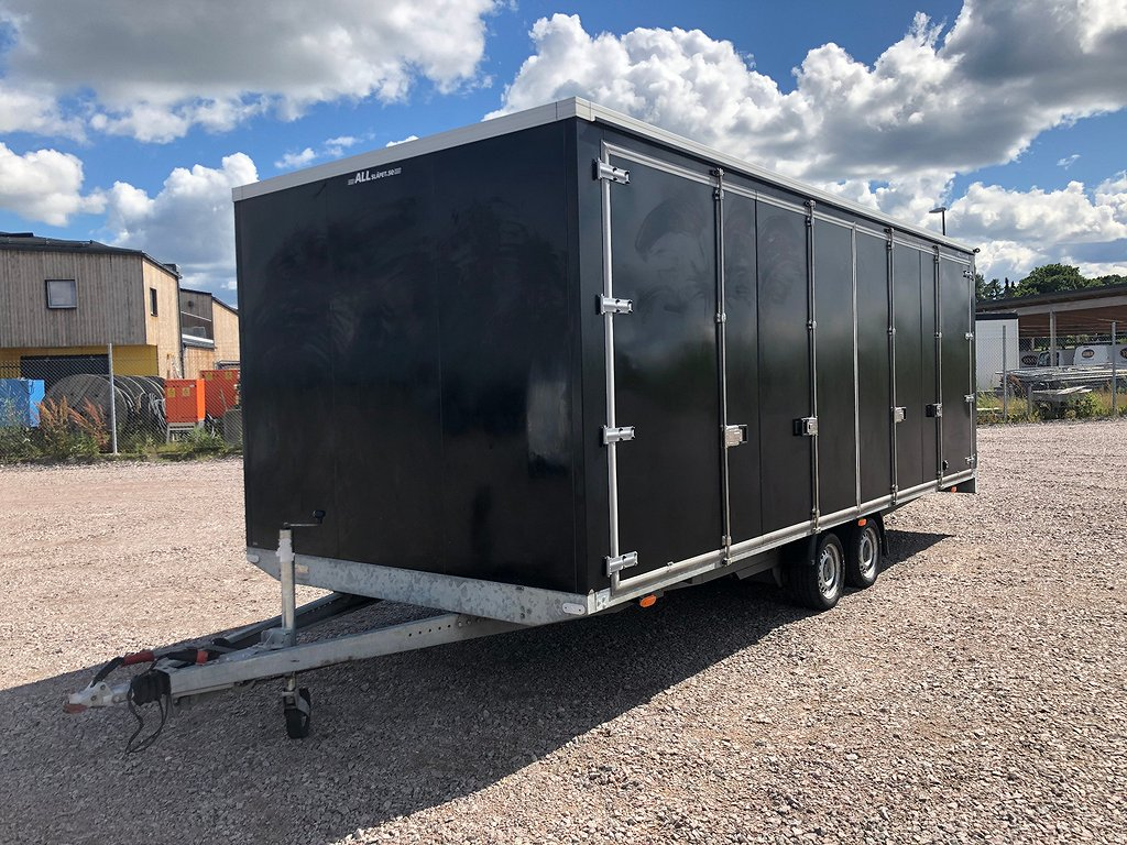 Vezeko Trailer  3500kg 7800x2540mm Moms