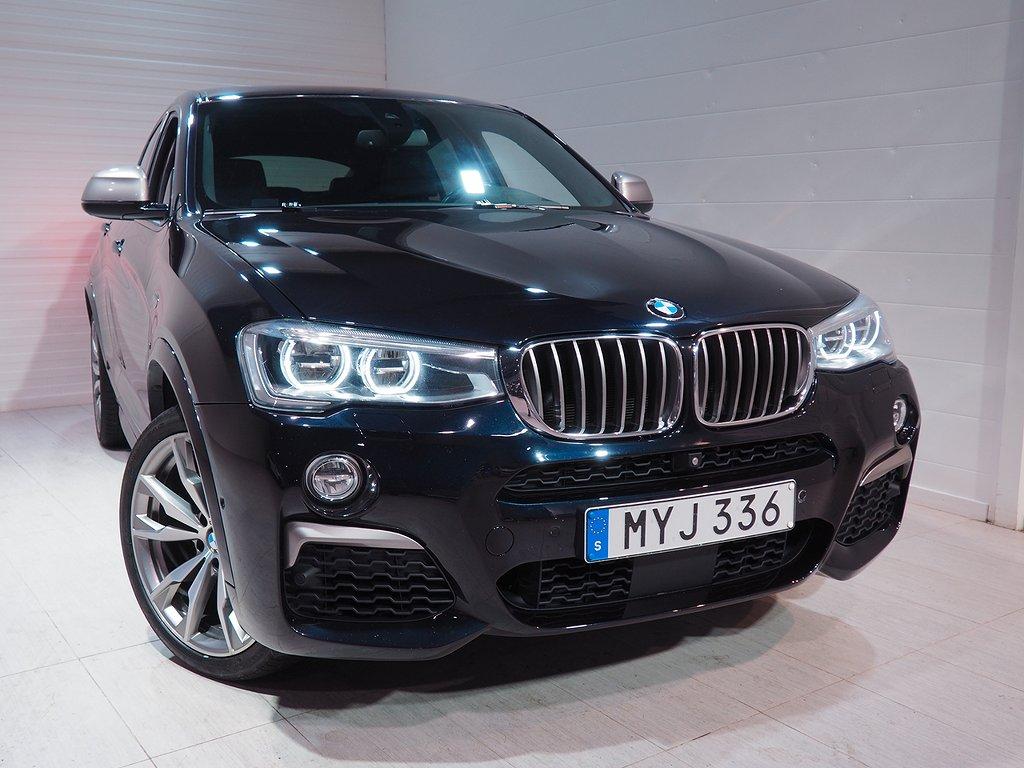 BMW X4 M40i Aut M-Sport 360hk Värmare Drag H&K Taklucka 2016