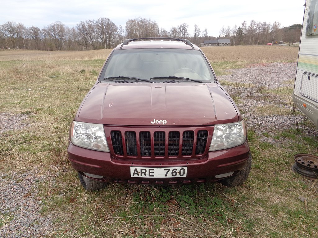 Jeep Grand Cherokee 4.7 V8 4WD Automat 220hk