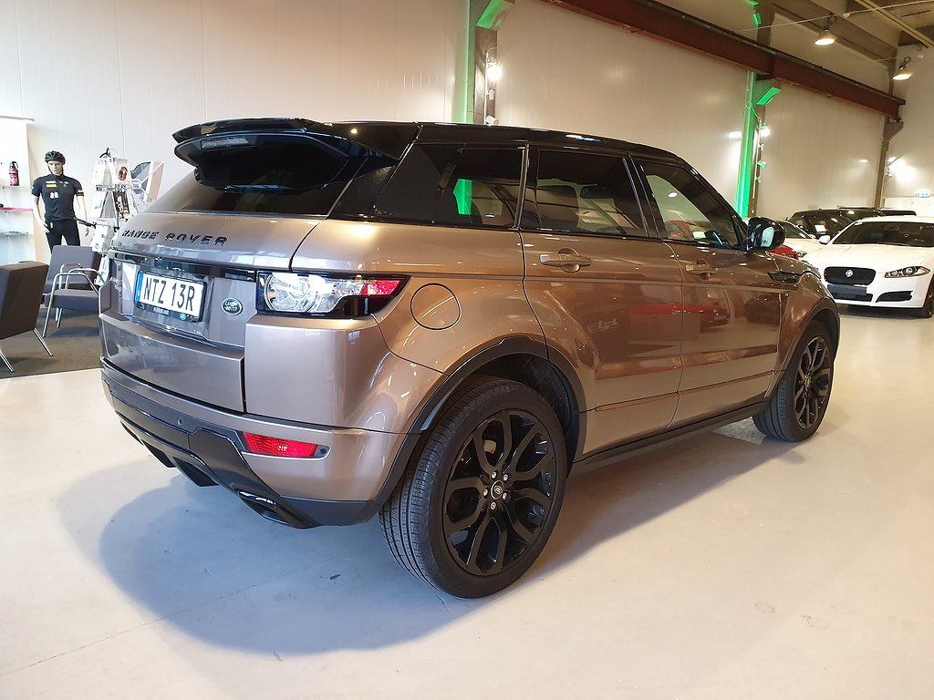 Land Rover Range Rover Evoque SD4 Dynamic 190hk / Black Pack