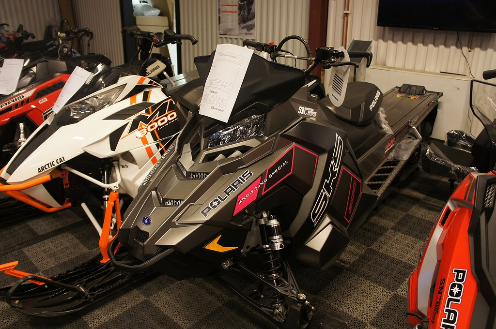 "Polaris 800 SKS 155"" Pink Ribbon"