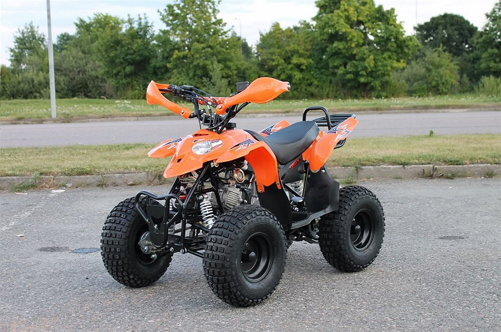 Loncin ATV 110cc Cobra Automat med back Orange