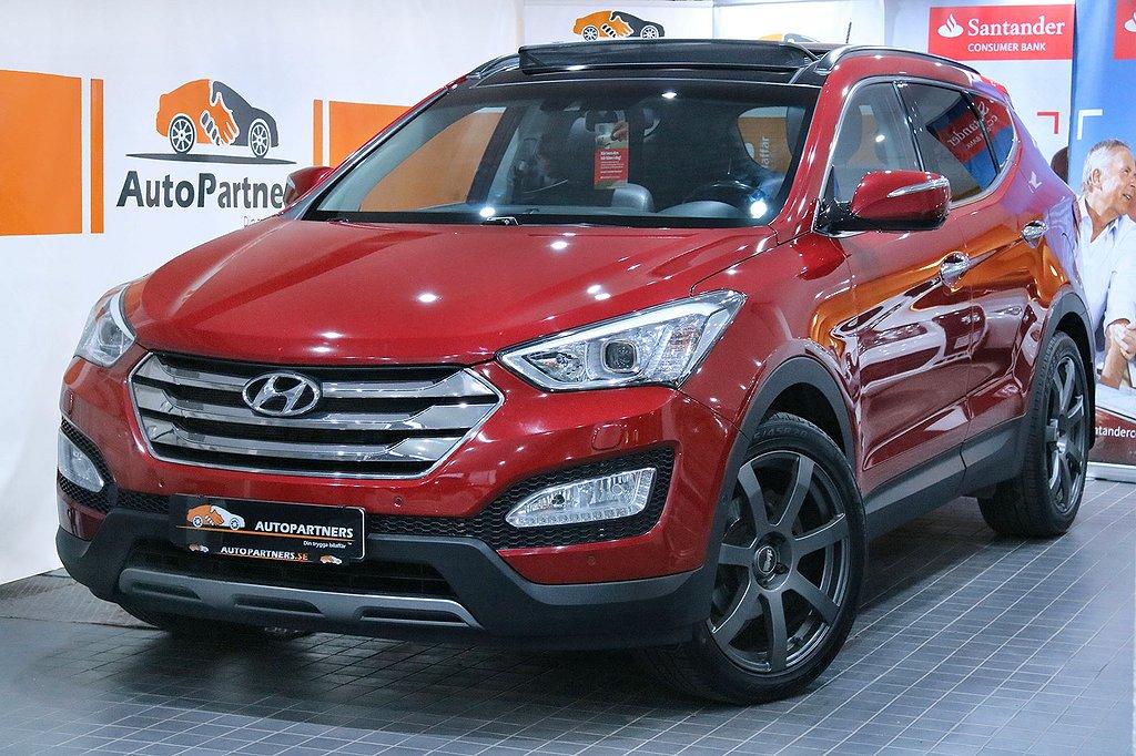 Hyundai Santa Fe 2.2CRDi 4WD 7-sits 197hk EXCLUSIVE PANORAMA