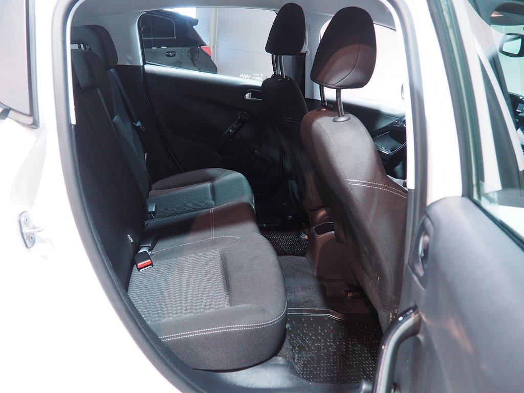 Peugeot 208 5-dörrar 1.2 VTi Euro 6 82hk Active PureTech 2016