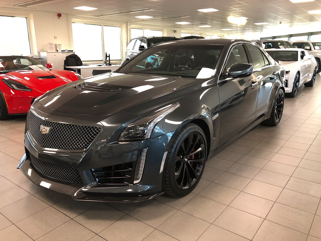 Cadillac CTS CTS-V 649hk 8-stegs Automat