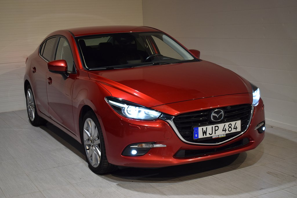 Mazda 3 Sedan 2.2 DE Optimum (Drag. Motorv.) 2016