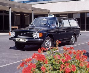 Volvo 145 Taxi