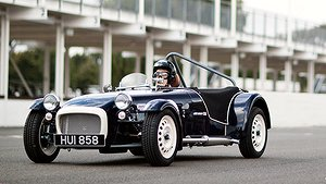 Caterham Seven SuperSprint smakar salt