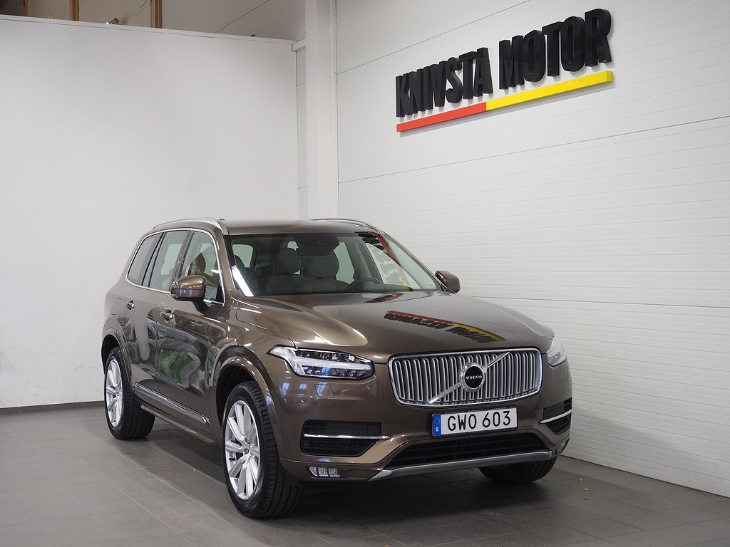 Volvo XC90 T6 AWD Inscription 7-sits 320hk 2016
