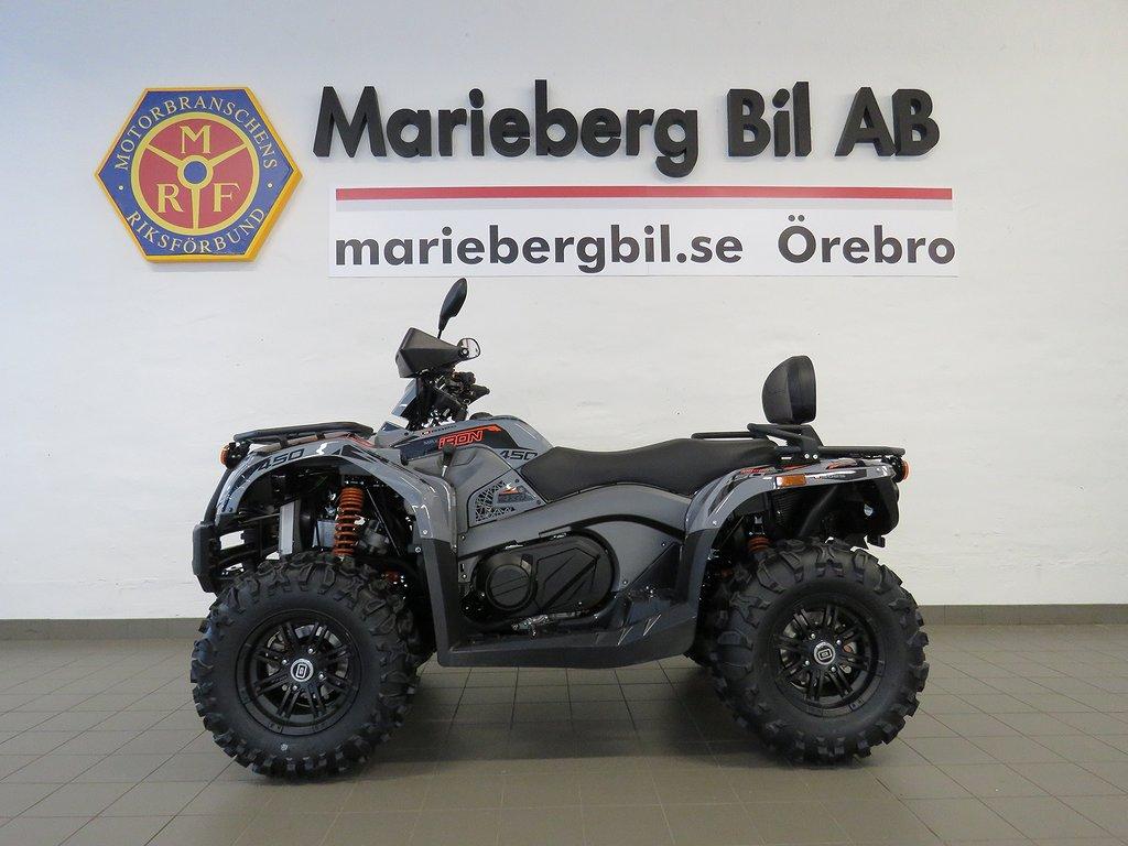Goes IRON MAX 4WD ATV Drag/Vinsch/OMGÅENDE LEVERANS