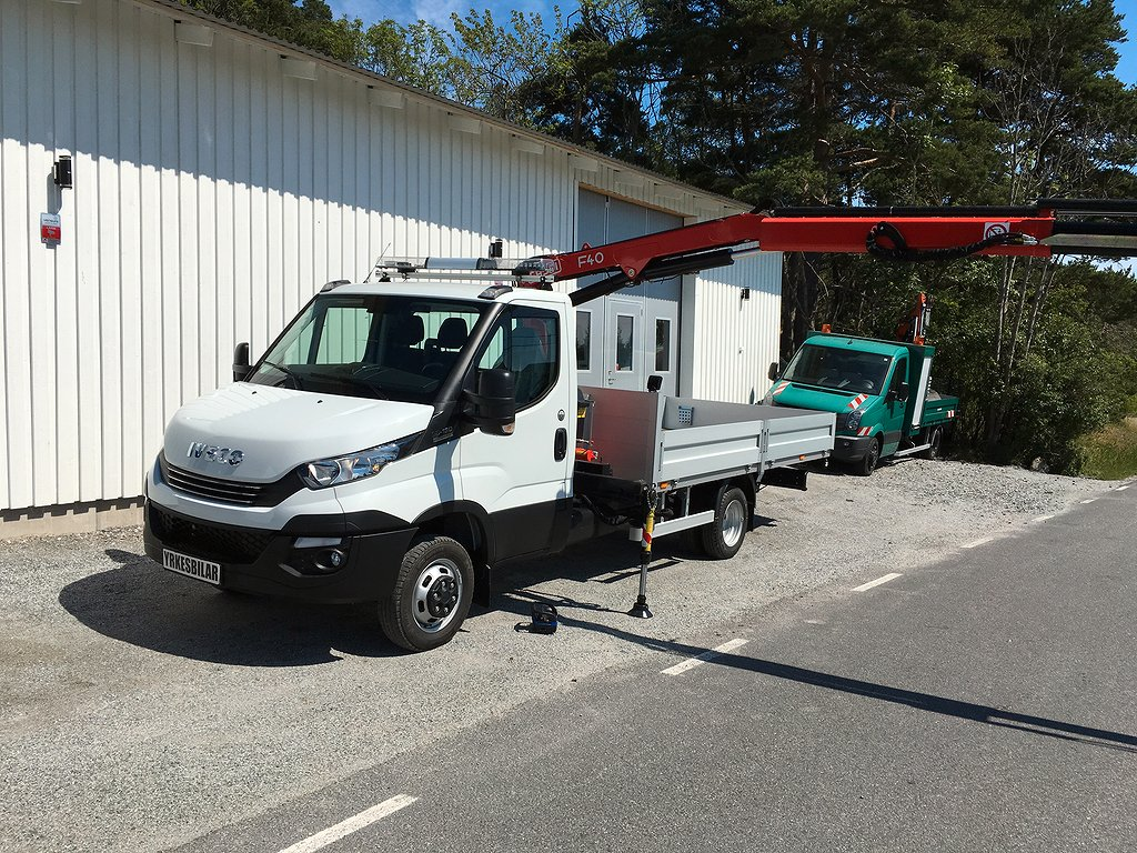 Iveco Daily Kranbil / Automat / Fassi F40
