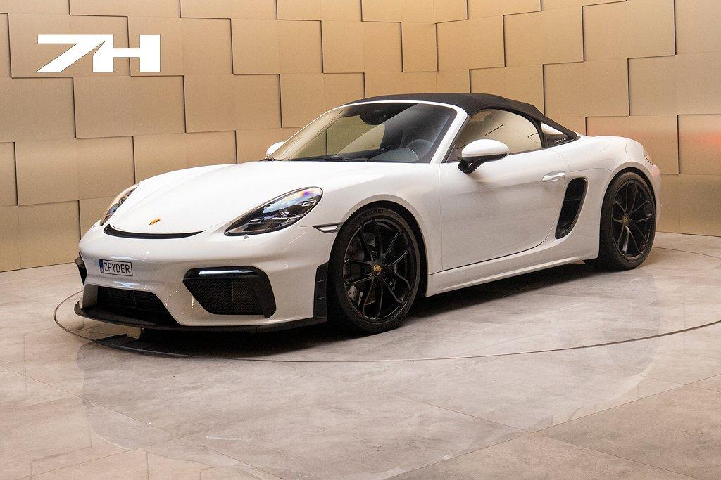 Porsche 718 Spyder PDK / Svensksåld / 650 Mil / OBS SPEC /