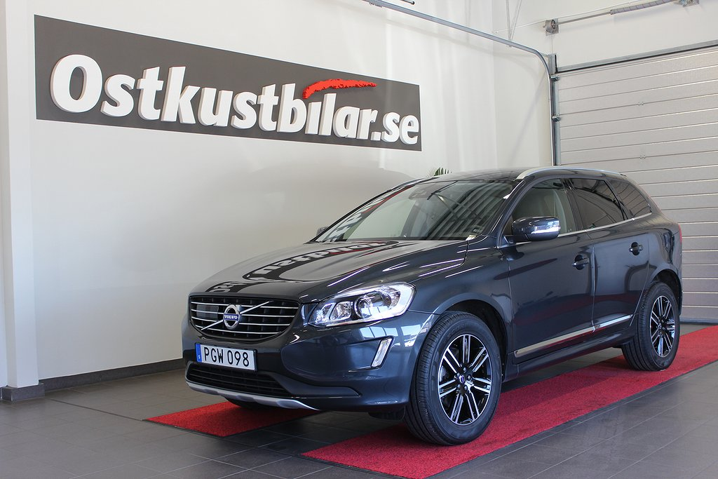 Volvo XC60, D3 Summum Driver Support