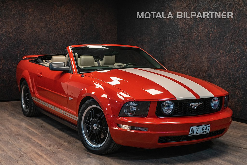 Ford Mustang CAB 4.0 V6 AUT | CLEAN TITLE | H&R | Flowmaster