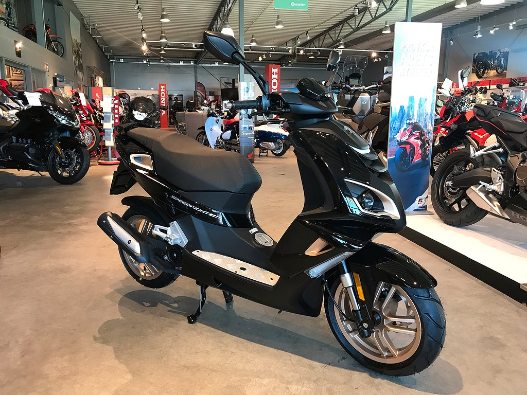 Peugeot Speedfight 4 Pure Black 4-takt 2020