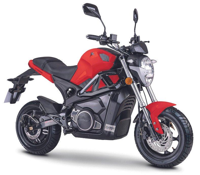 """Övrigt El moped """"Streetpony"""" Röd, Lithium batterier"""