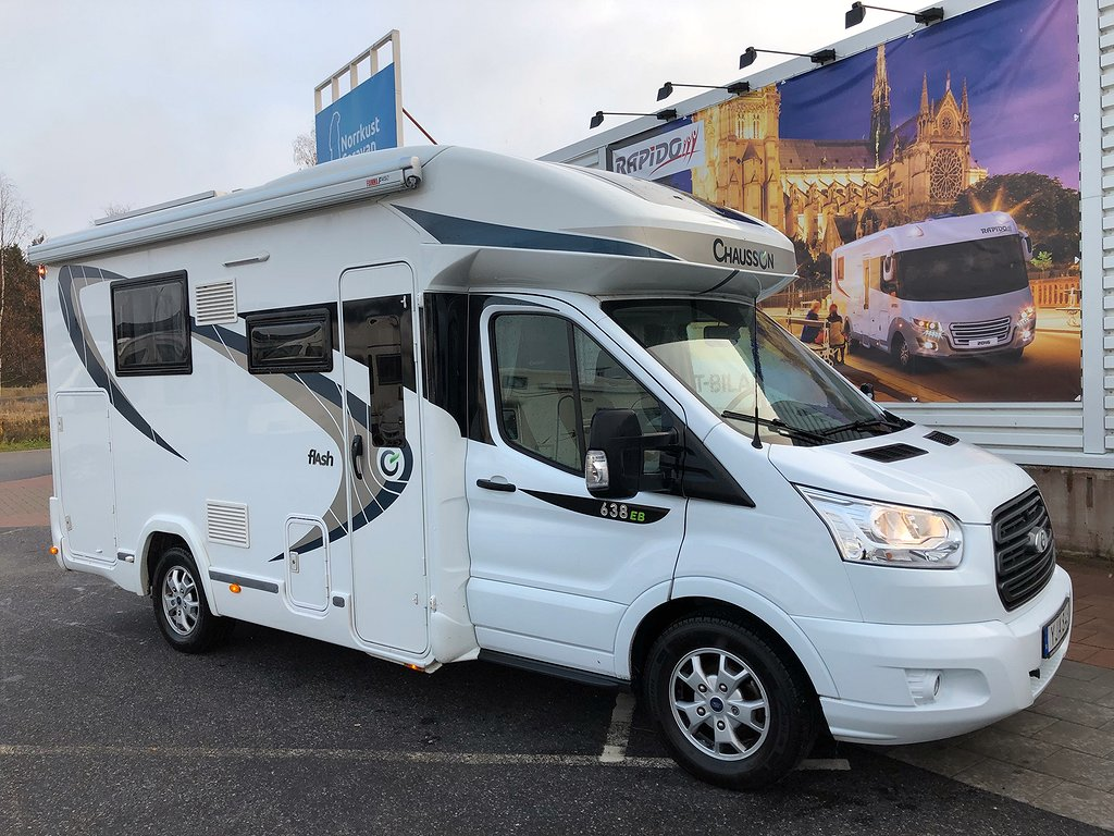 Chausson 638 EB Queenbed Automat 170HK