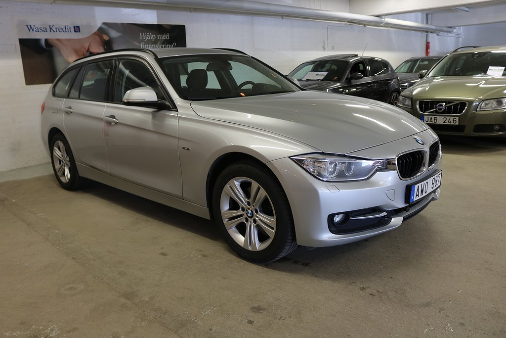 BMW 320 d xDrive Touring Steptronic 184hk