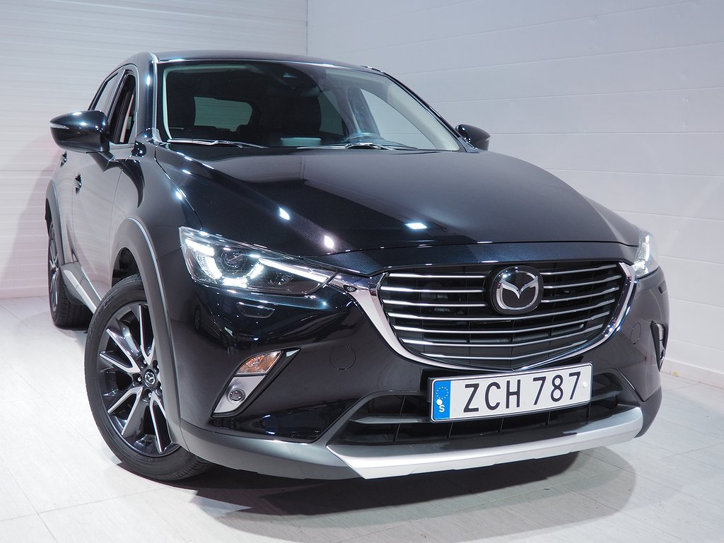 Mazda CX-3 2.0 Aut 120hk Optimum BOSE HUD Backkamera Navi 2018