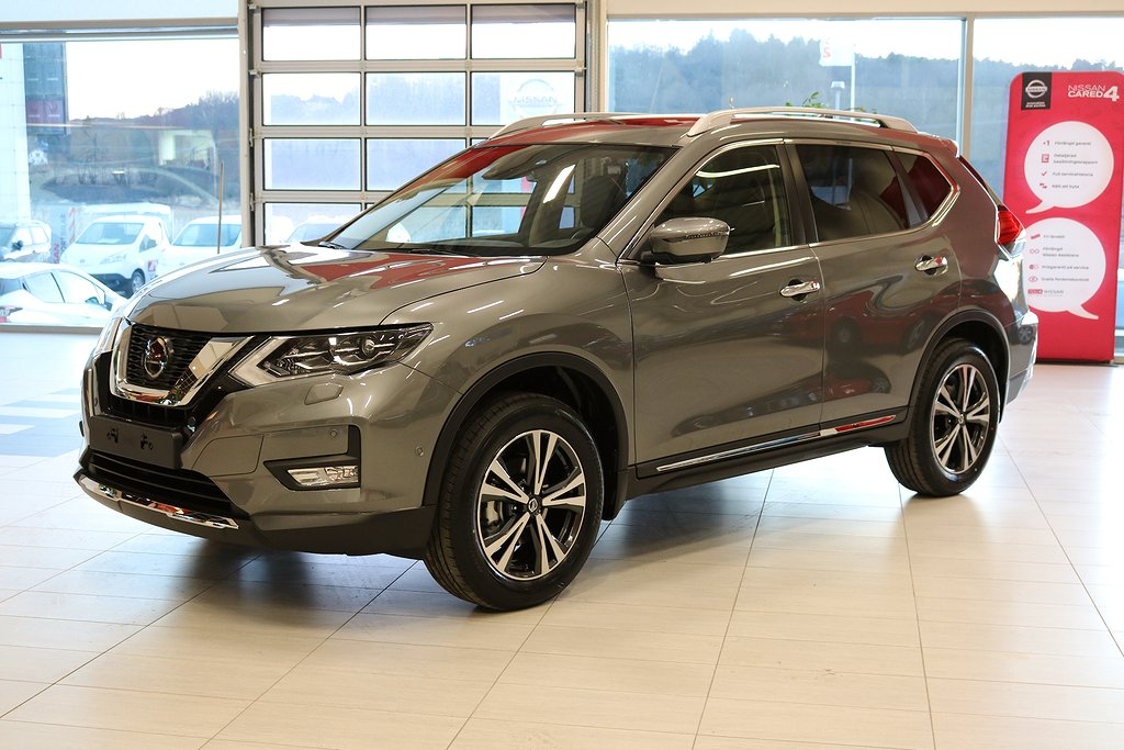 Nissan X-Trail DIG-T 160hk Tekna 7-sits 2WD DCT Panorama