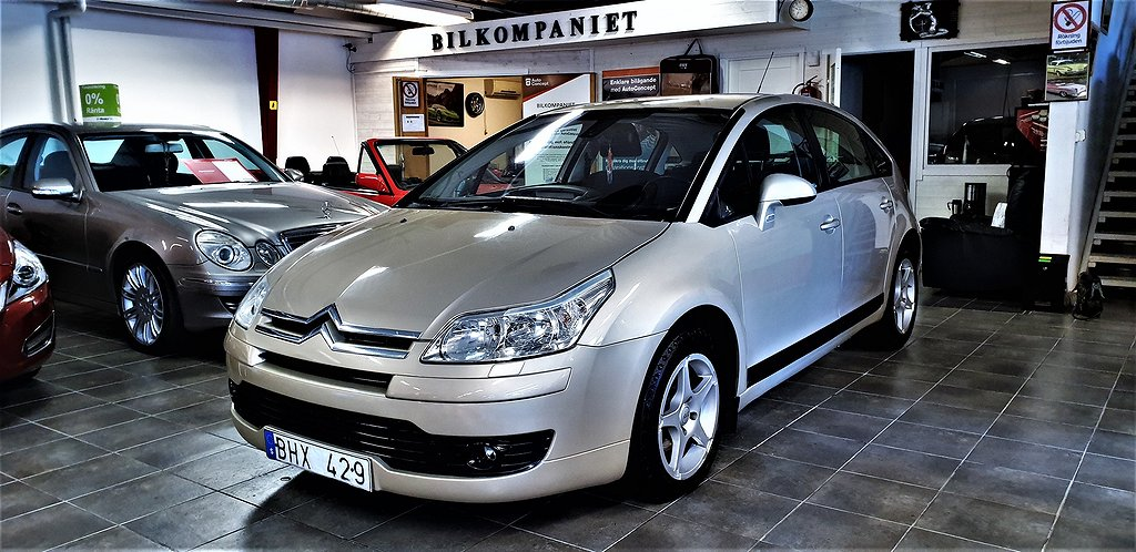Citroën C4 1.6 HDiF EGS 109hk,NYbes,NYserv