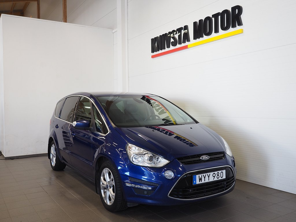 Ford S-Max 2.0 TDCi AUT PANORAMA 7-sits 140hk 2015