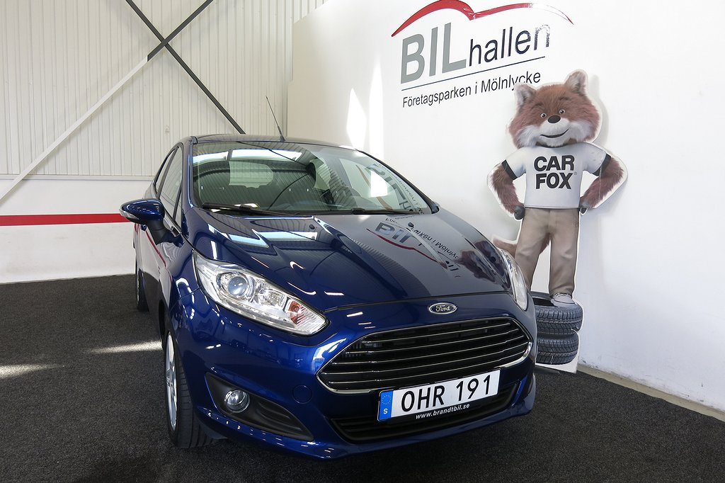 Ford Fiesta 1.0 EcoBoost Automat Euro 6 100hk
