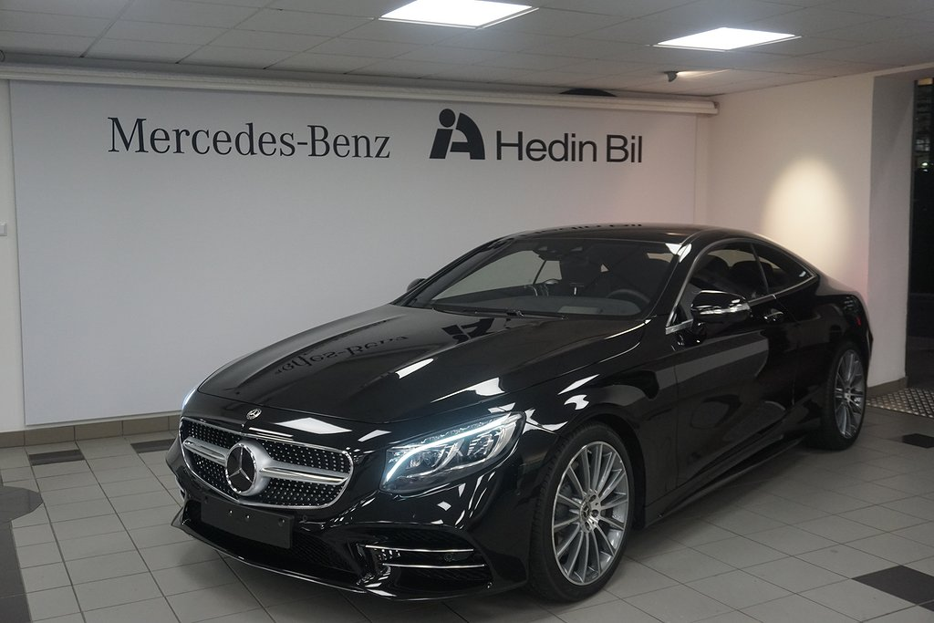 Mercedes-Benz S 560 Coupé // Demo // AMG Line // Burmester® //