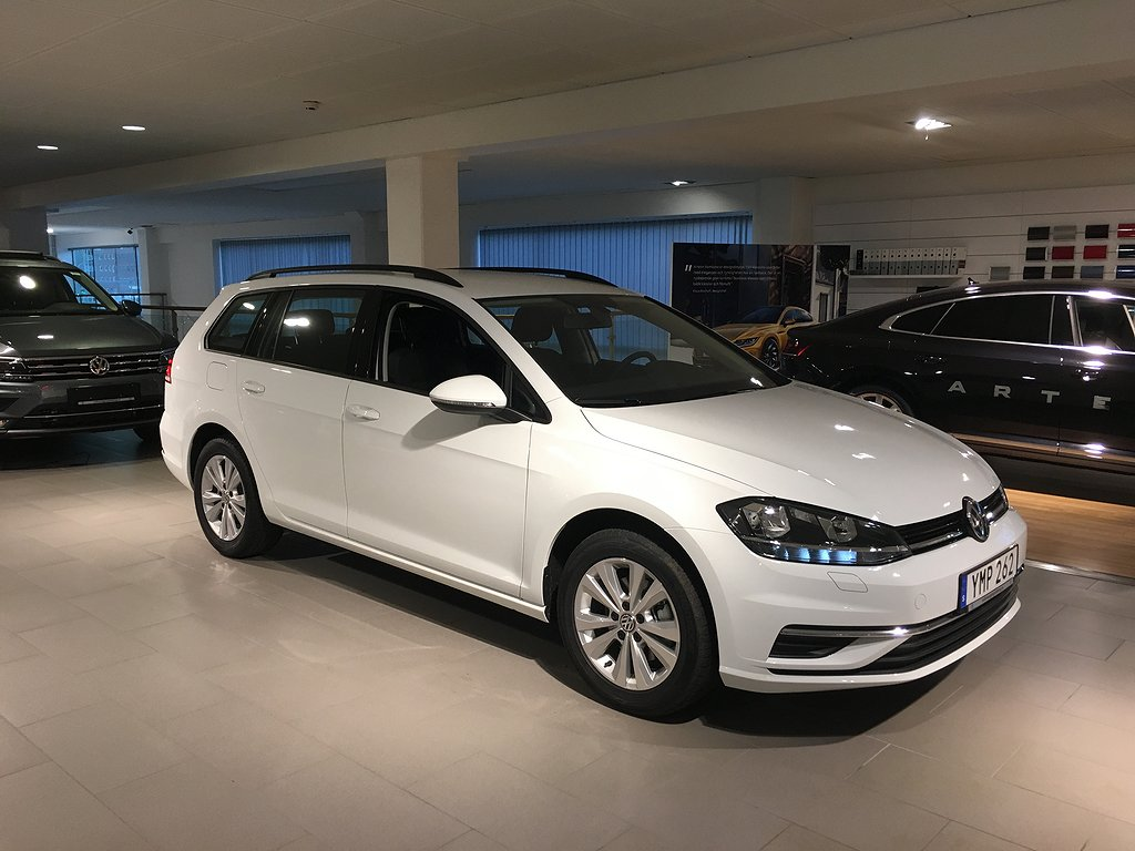 Volkswagen Golf SC 115 hk Privatleasing kampanj