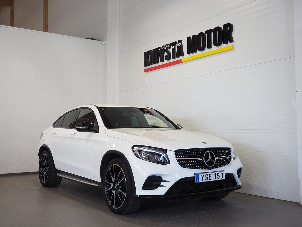 Mercedes-Benz AMG GLC 43 Coupé 4M D-VÄRM DRAG 367hk 2018