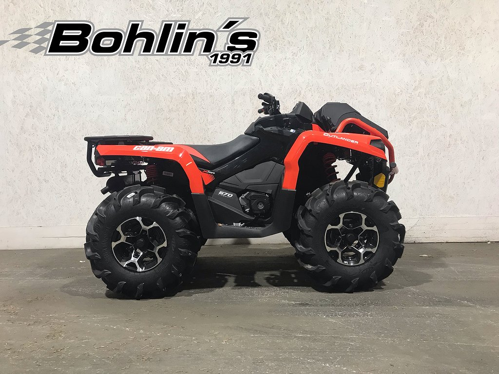 Can-Am Outlander Xmr 570 -18 *Kampanj maskin*