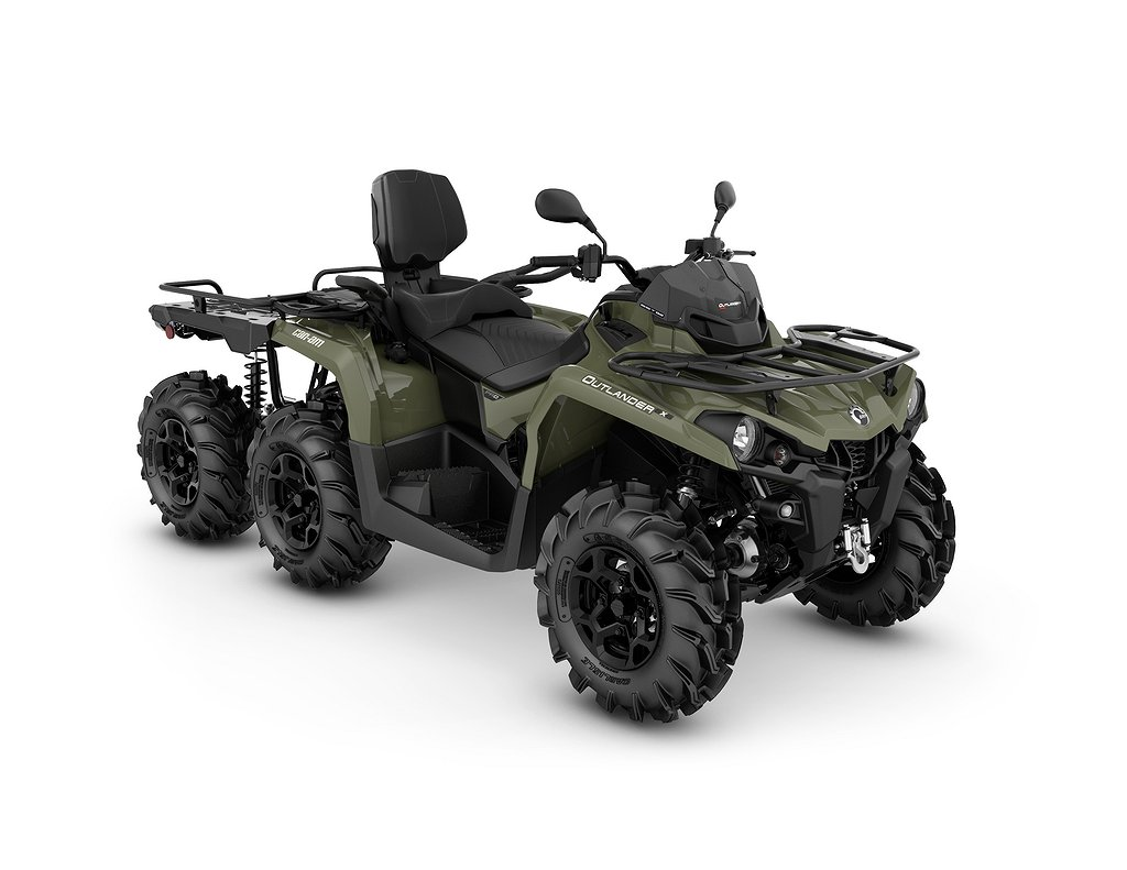 Can-Am Outlander Max 450 6x6 Pro+ T Flat bed
