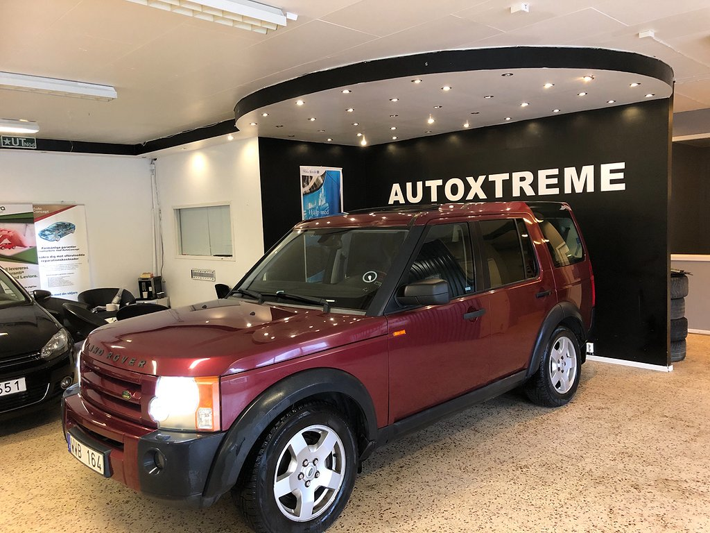 Land Rover Discovery 2.7 TD men 4WD Automat 7-sits 190hk