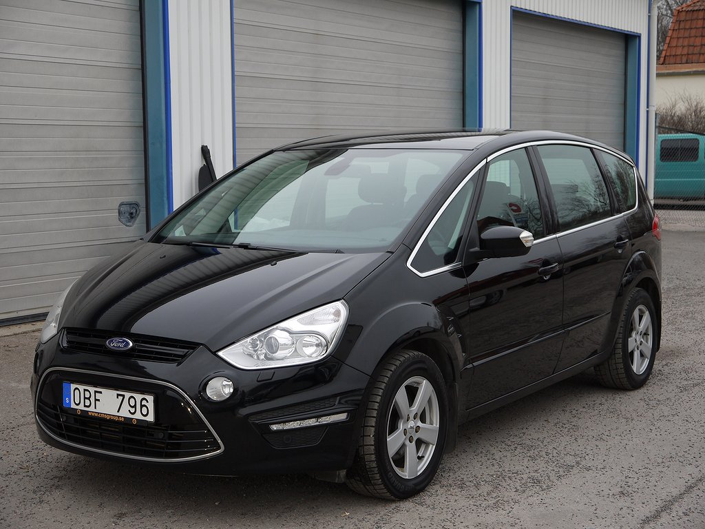 Ford S-Max 2.0 TDCi 140HK 7-sits Business, Automat, Dieselvärmare