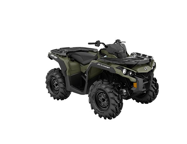 Can-Am Outlander 650 Pro Terrängregistrerad