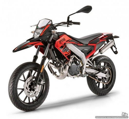 Aprilia SX 50 Sm Red Acceleration