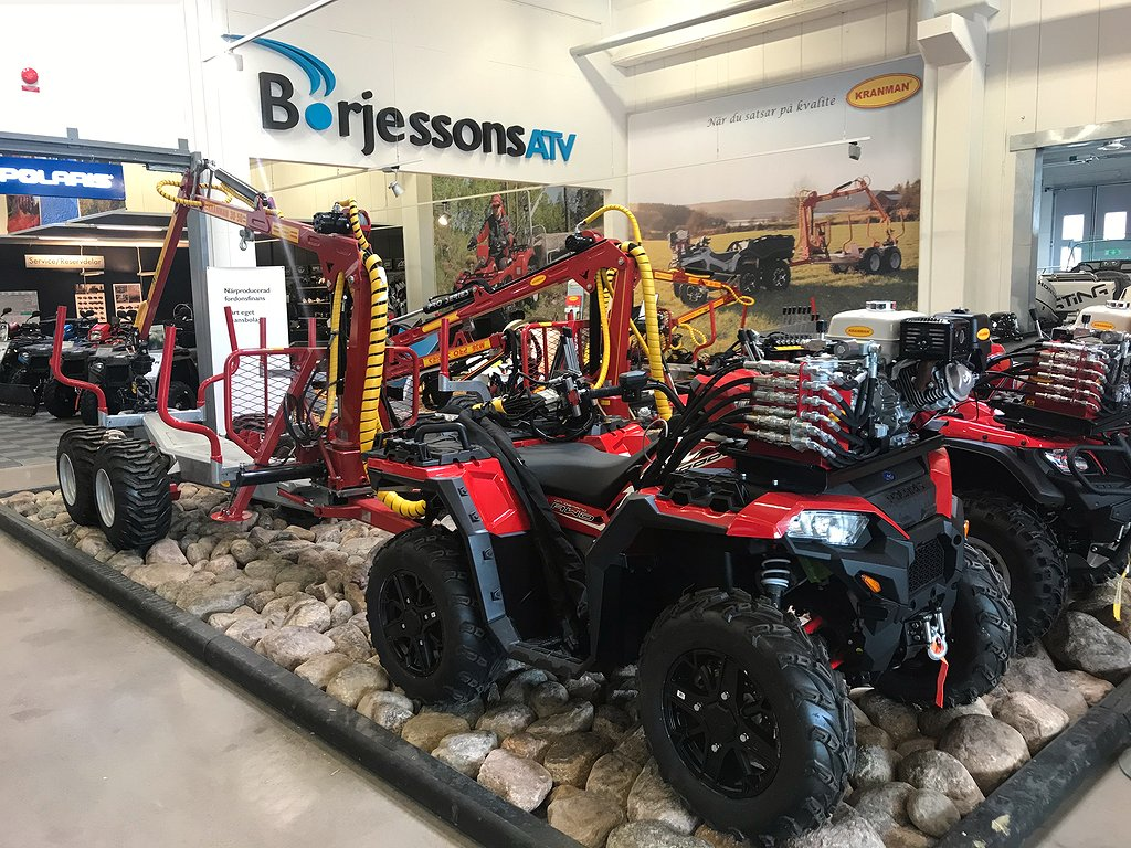 Polaris XP 1000 Inkl. Kranman T1900 Börjessonsed.
