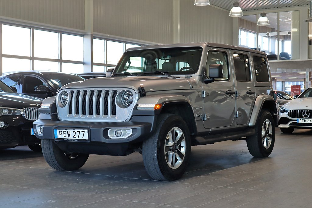 Jeep Wrangler Unlimited Sahara 2.2 CRD 4WD Aut 200hk
