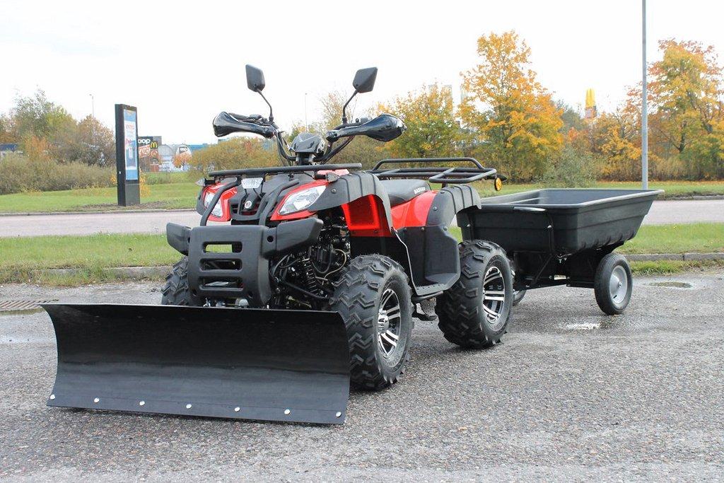 ATV Bashan Worker Bear EFI CVT 4X2 Röd