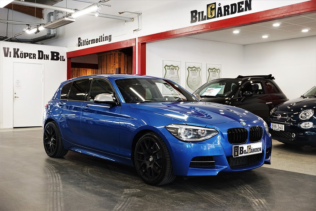 BMW M135 i xDrive 5-door Steptronic 320hk