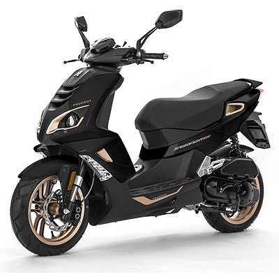 Peugeot Speedfight Pure €4 Pearl black